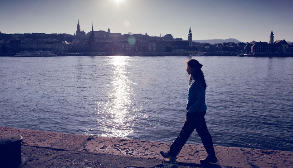 I´m walking...