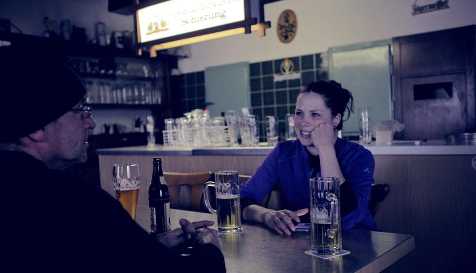 Ein Bier und ein Schnaps