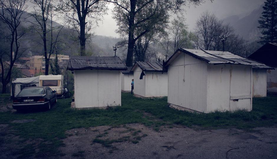 Der Campingplatz in Baile Herculane