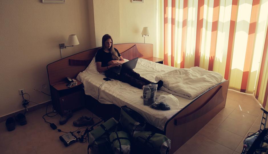 Ausruhen im Hotel in Constanta (Dusche, Bett, Erholung und Frühstück für 23 Euro)