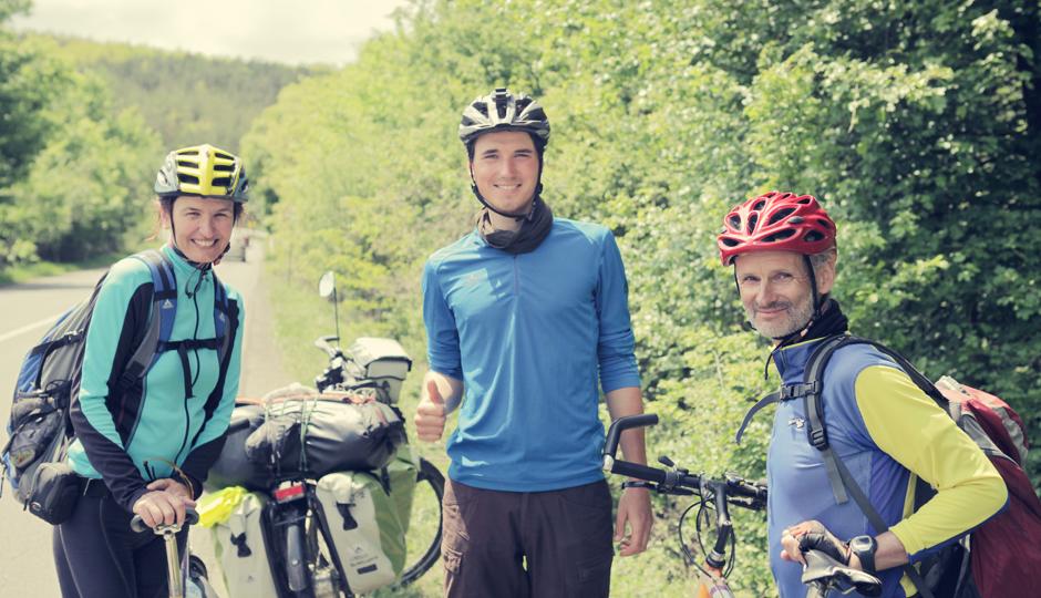 Anna-Maria und Michael aus Deutschland. Rad- und Reiseerfahren.