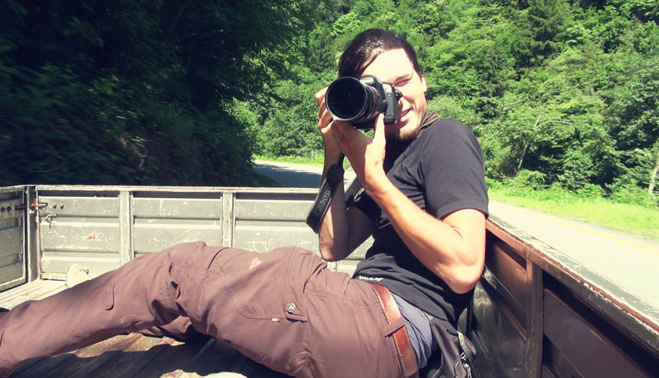 Fotograf in Action!