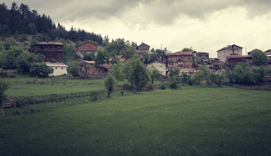 Traditionelles Dorf