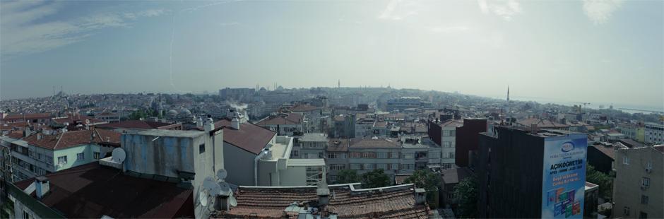 Mit phänomenalem Ausblick über Istanbul