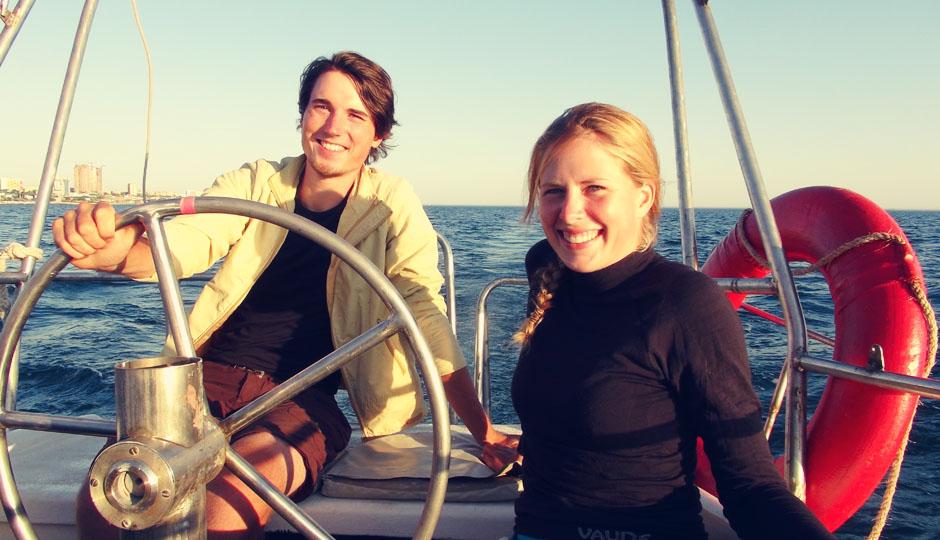 Wir stechen in See. Nimm mich mit Kapitän auf die Reise...