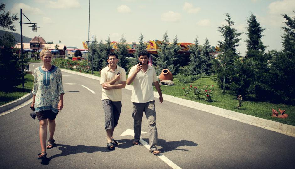 Danke euch beiden für den netten Tag, eure Mühe und den mal etwas anderen Einblick in das Leben in Aserbaidschan!
