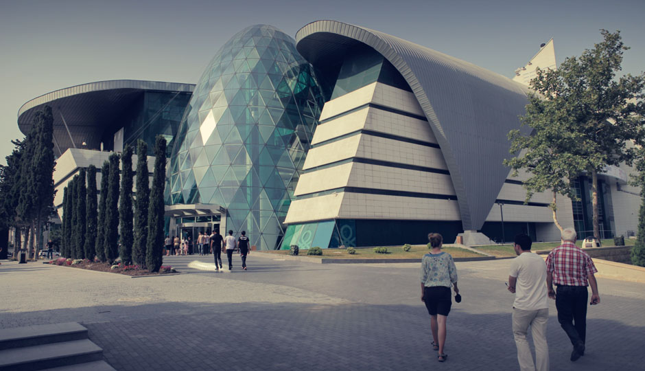 Shopping Mall in Baku