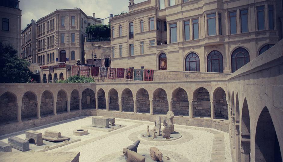 Die Altstadt Bakus
