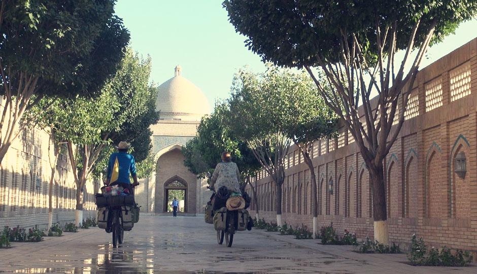 Das Mausoleum von Bahauddin Naqshbandi