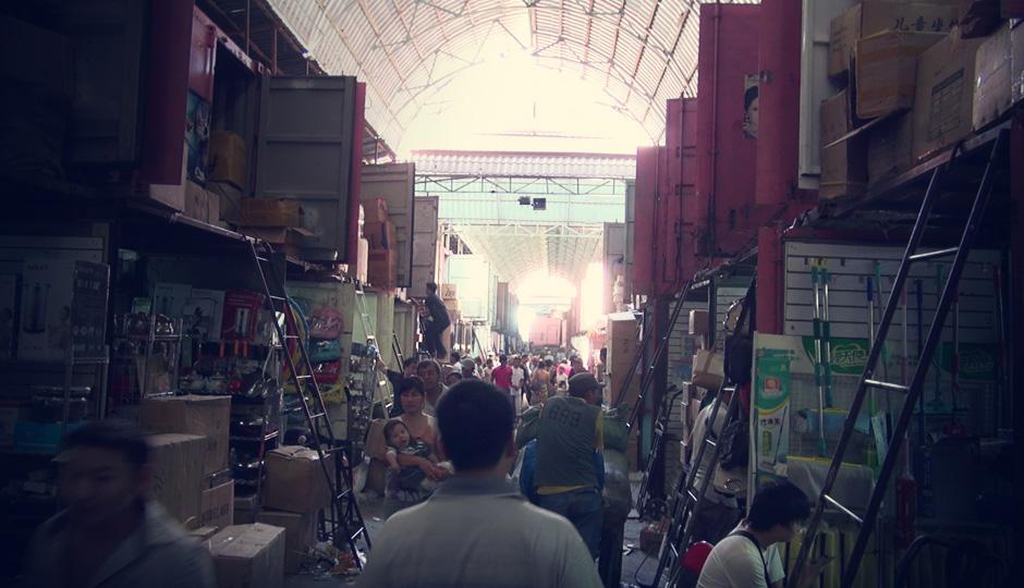 Hier findet man Alles - wenn man weiß wo, denn der Bazar ist riesig!
