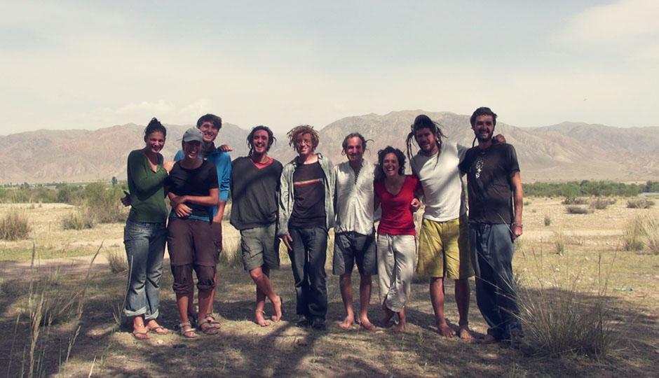 Die französische Reisegruppe