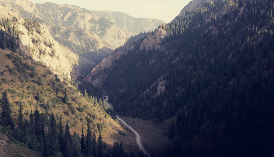 Und wir sind gespannt, was sich am Ende des Tals befindet!