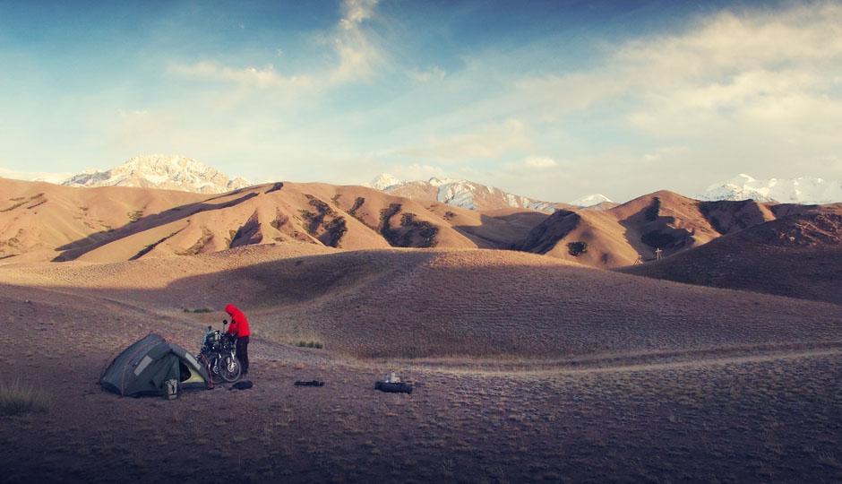 China liegt nun in greifbarer Nähe: Unsere letzte Nacht auf kirgisischer Seite 10km vor der Grenze