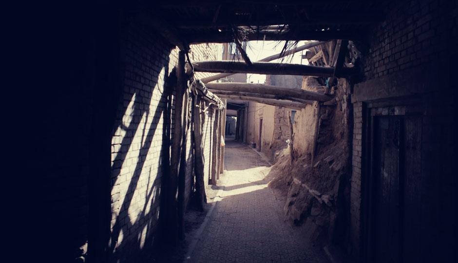 Ein Labyrinth aus Gängen