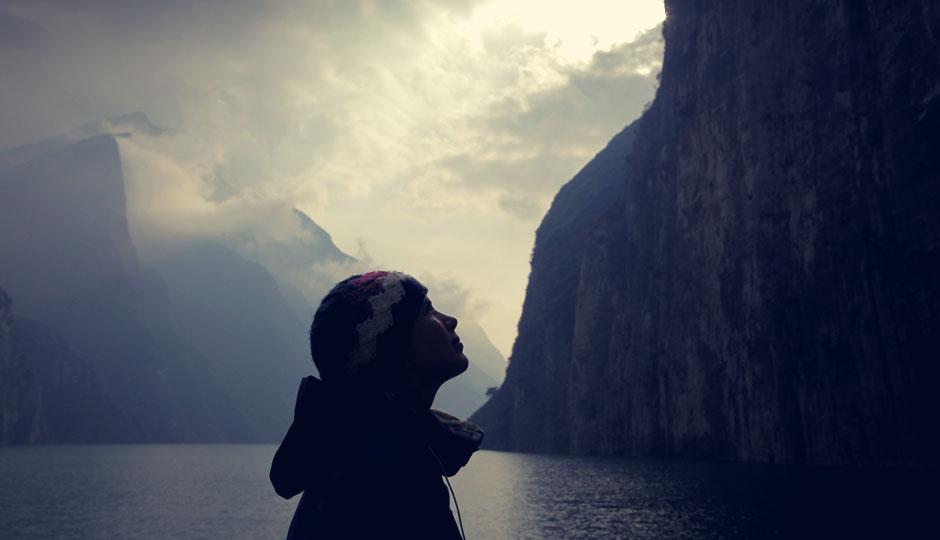 Leider ist es kaum möglich die Schönheit der Schlucht in Ruhe zu bestaunen.