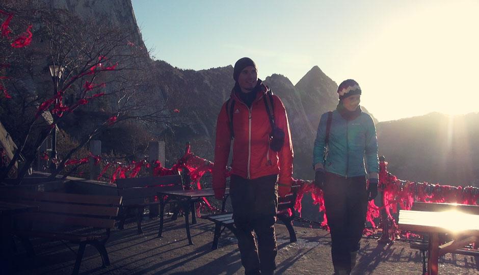 Wir verlassen den Berg mit gemischten Gefühlen...