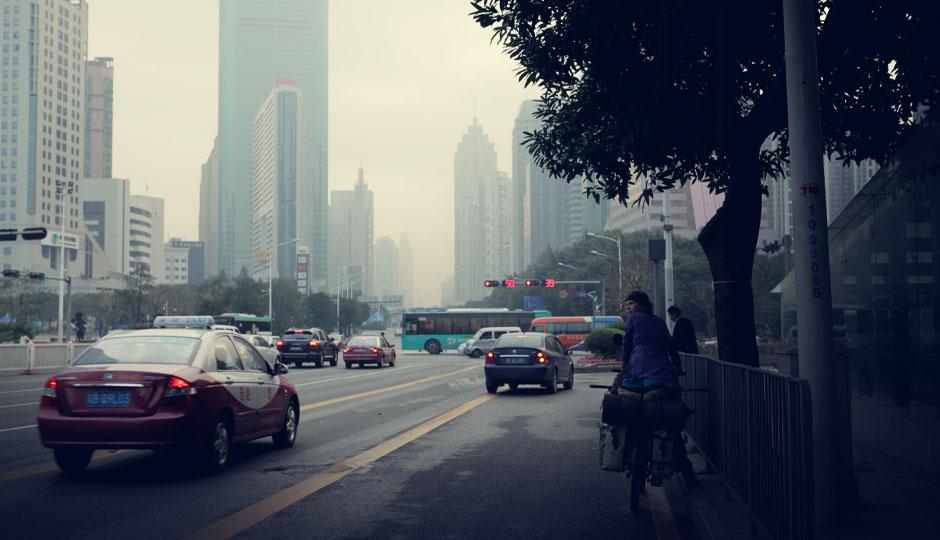 16. Dez 2012 - Noch 6 Tage: Wir nähern uns der Stadt