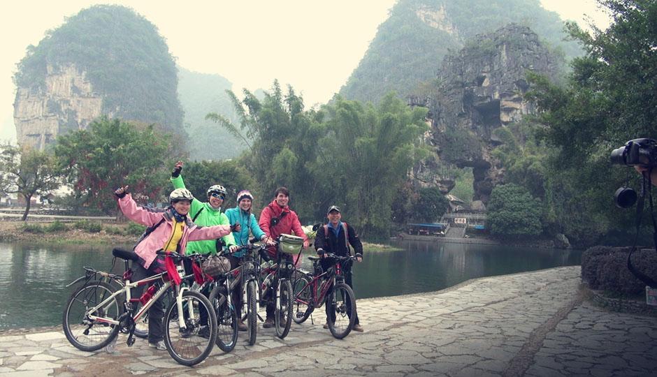 Wir sind nicht die einzigen Radfahrer ;)