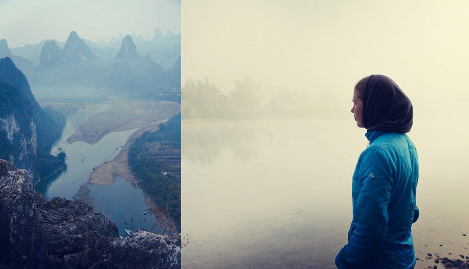 Blick auf den Lijiang